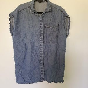 3for$25 forever 21 button down tee shirt
